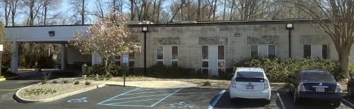 Unity Renaissance Church 1120 Eden Way N, Chesapeake, VA, before powerwashing